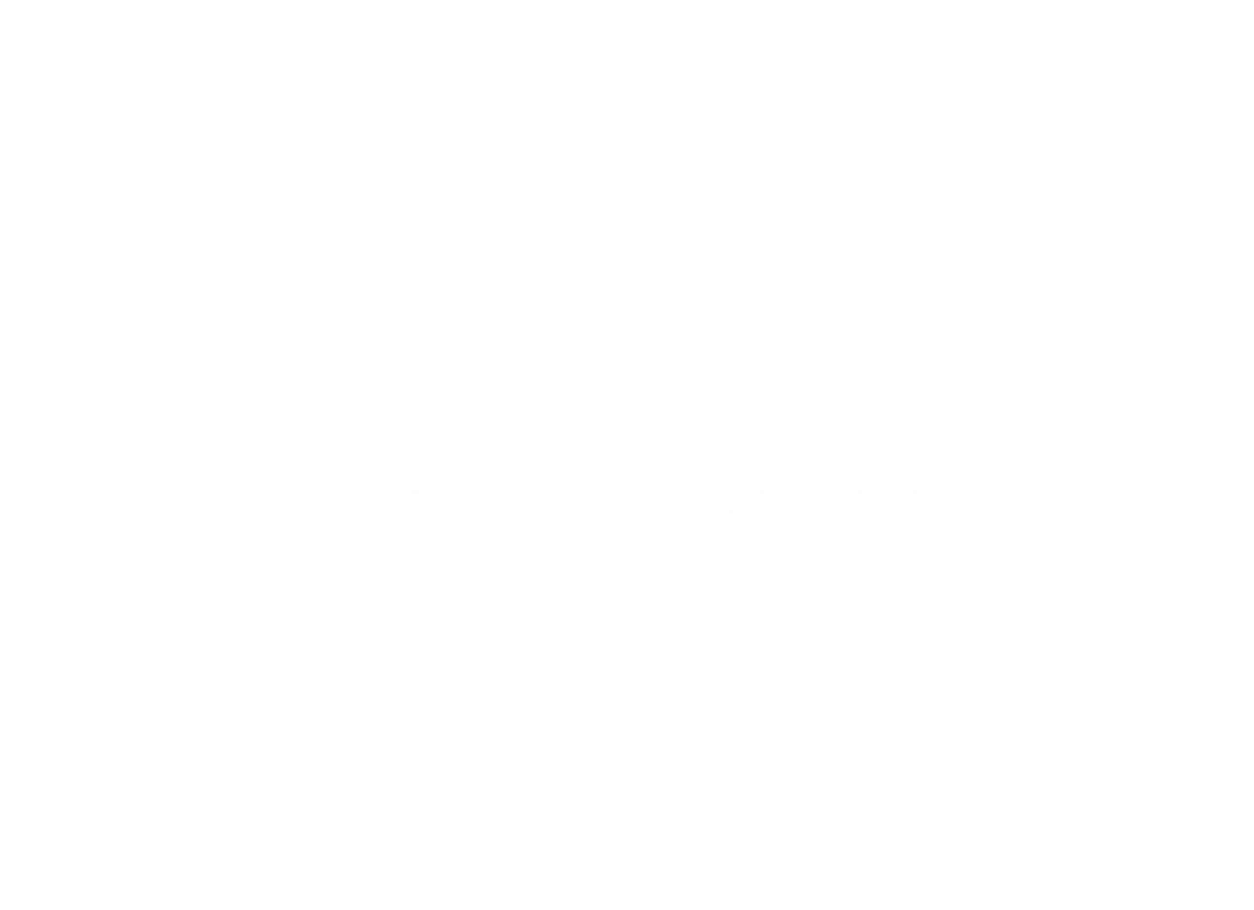 Sheep milk logo in white PNG